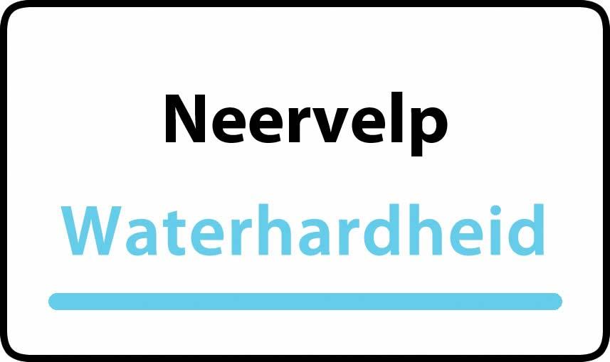 waterhardheid in Neervelp is hard water 40 °F Franse graden