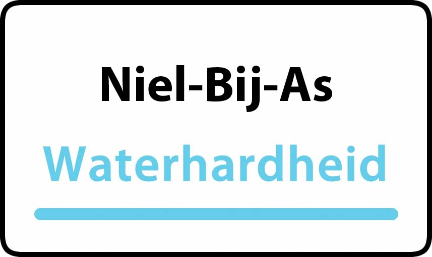 waterhardheid in Niel-Bij-As is middel hard water 22 °F Franse graden