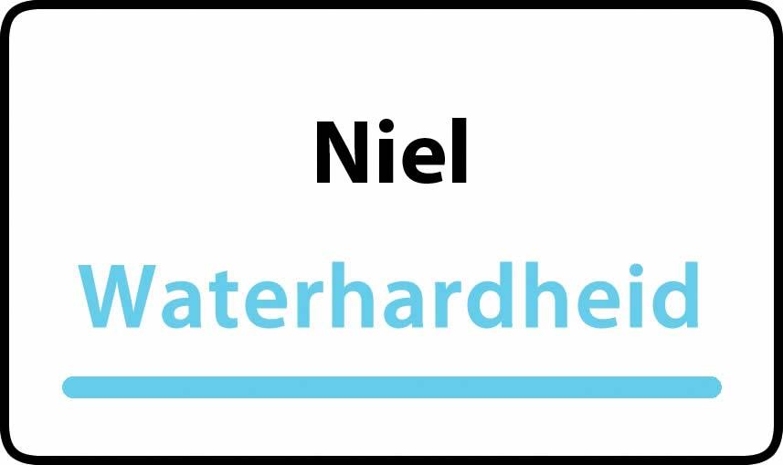 waterhardheid in Niel is middel hard water 18 °F Franse graden