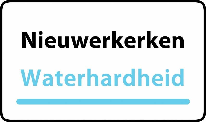 waterhardheid in Nieuwerkerken is middel hard water 23 °F Franse graden