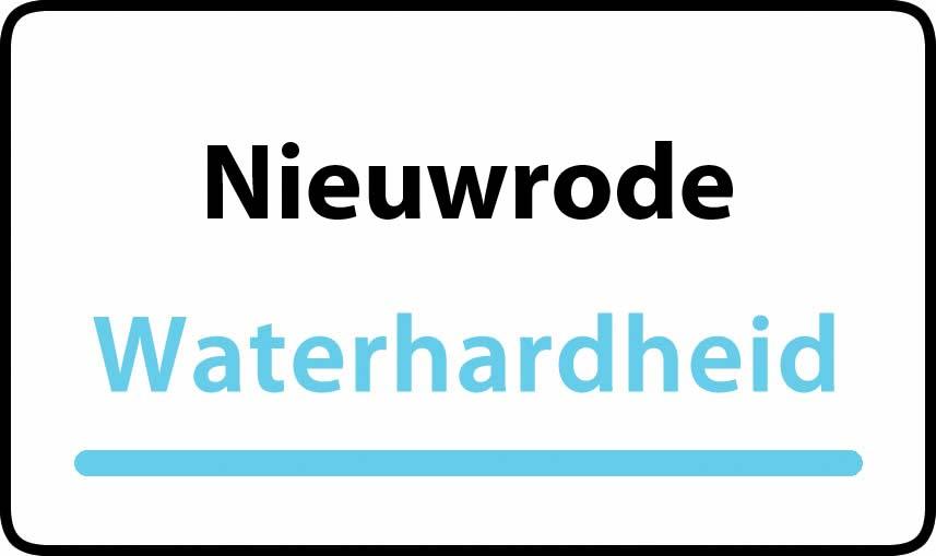waterhardheid in Nieuwrode is middel hard water 17 °F Franse graden
