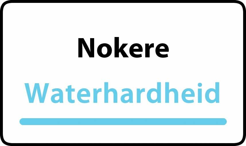 waterhardheid in Nokere is hard water 39 °F Franse graden
