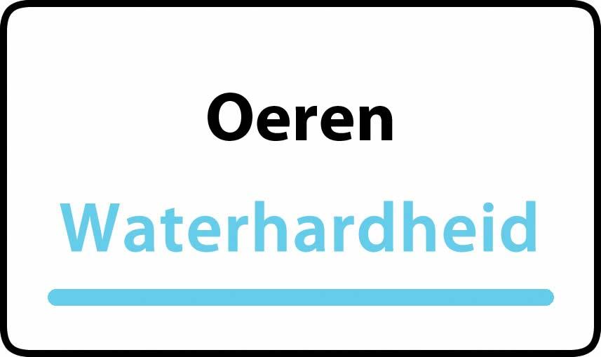 waterhardheid in Oeren is hard water 40 °F Franse graden