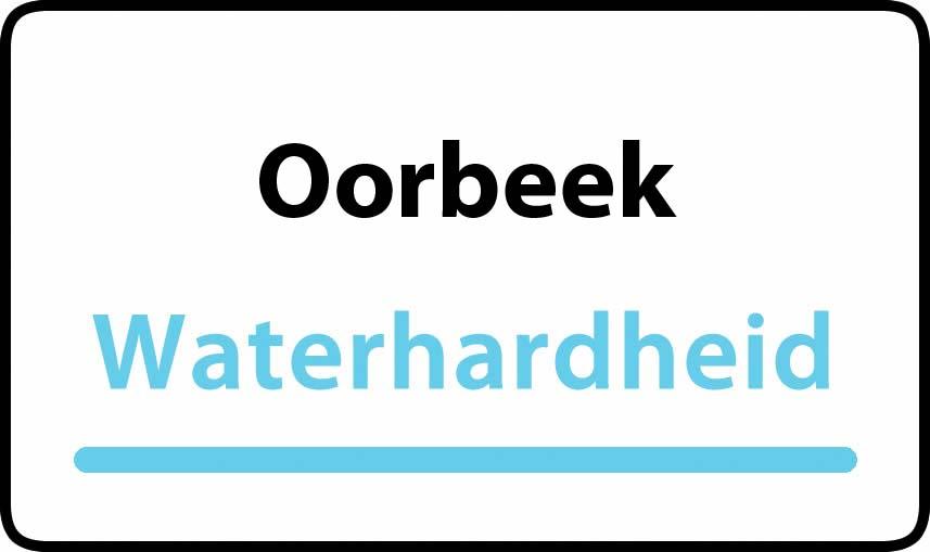 waterhardheid in Oorbeek is hard water 39 °F Franse graden