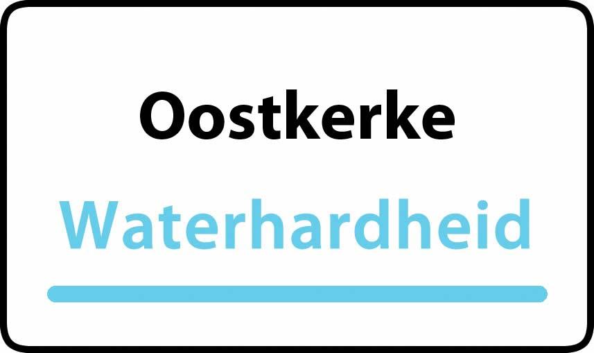 waterhardheid in Oostkerke is middel hard water 27 °F Franse graden