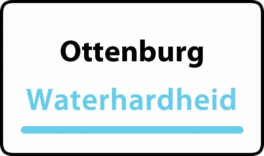 waterhardheid in Ottenburg is hard water 38 °F Franse graden