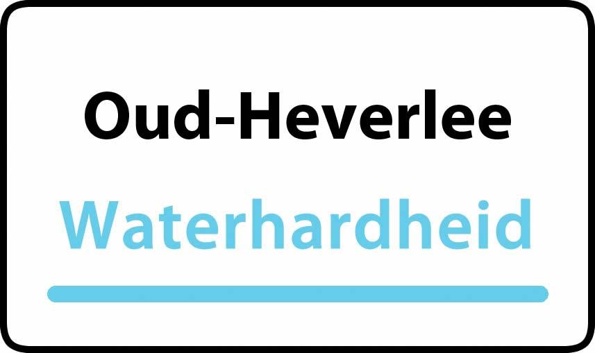 waterhardheid in Oud-Heverlee is hard water 37 °F Franse graden