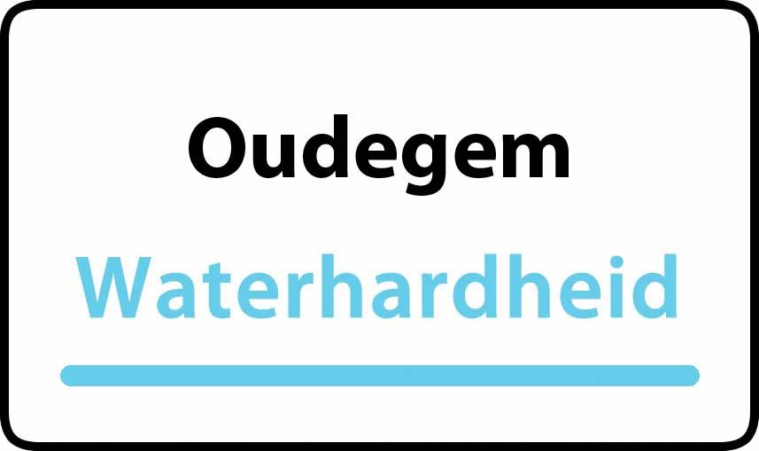 waterhardheid in Oudegem is middel hard water 22 °F Franse graden