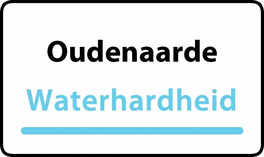 waterhardheid in Oudenaarde is hard water 40 °F Franse graden