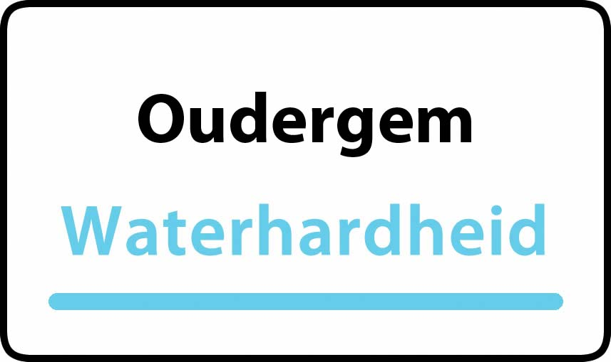 waterhardheid in Oudergem is hard water 36 °F Franse graden
