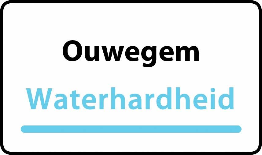 waterhardheid in Ouwegem is hard water 39 °F Franse graden