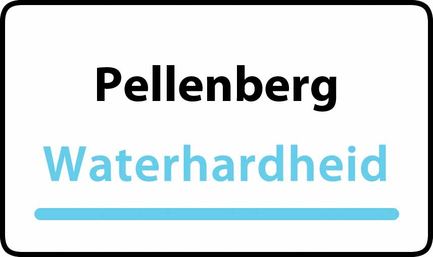 waterhardheid in Pellenberg is hard water 35 °F Franse graden
