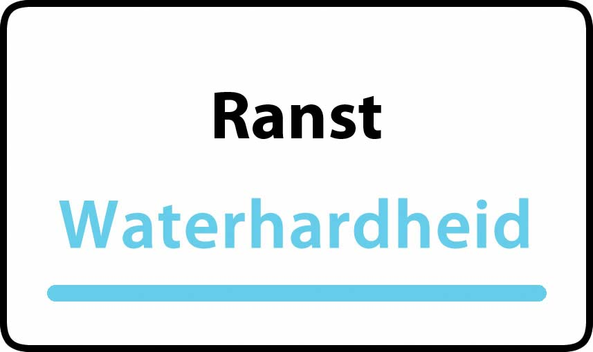 waterhardheid in Ranst is middel hard water 16 °F Franse graden