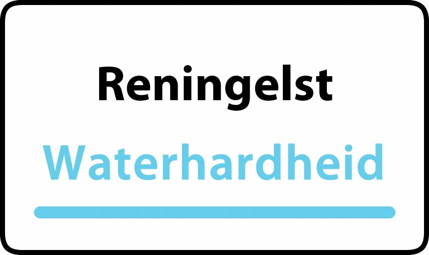 waterhardheid in Reningelst is hard water 44 °F Franse graden