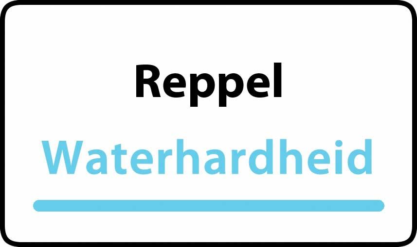 waterhardheid in Reppel is middel hard water 15 °F Franse graden