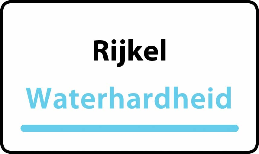 waterhardheid in Rijkel is hard water 37 °F Franse graden
