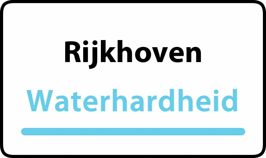 waterhardheid in Rijkhoven is hard water 35 °F Franse graden