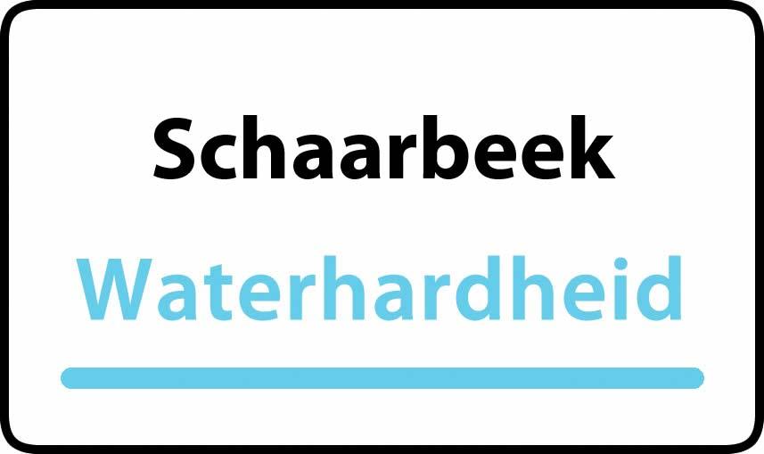 waterhardheid in Schaarbeek is hard water 38 °F Franse graden
