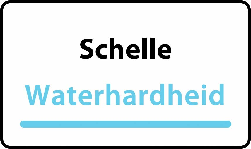 waterhardheid in Schelle is middel hard water 18 °F Franse graden