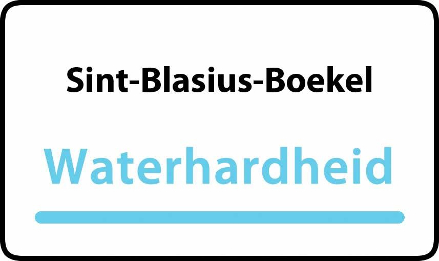 waterhardheid in Sint-Blasius-Boekel is hard water 39 °F Franse graden