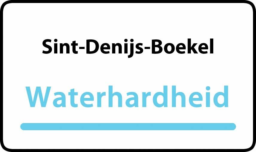 waterhardheid in Sint-Denijs-Boekel is hard water 39 °F Franse graden