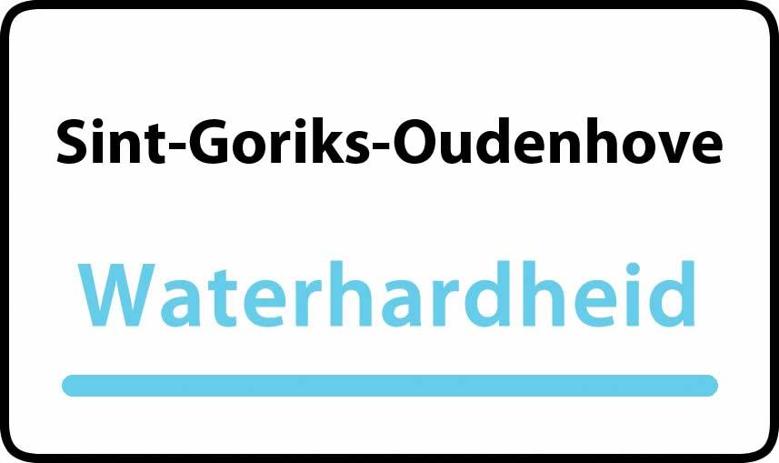 waterhardheid in Sint-Goriks-Oudenhove is hard water 39 °F Franse graden