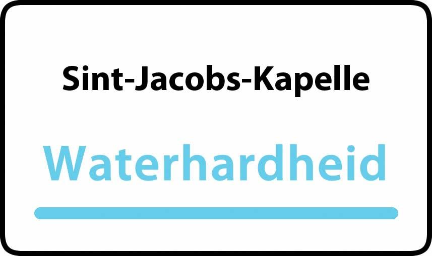 waterhardheid in Sint-Jacobs-Kapelle is middel hard water 27 °F Franse graden