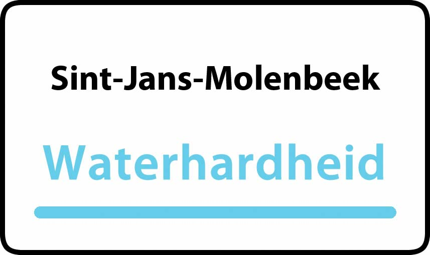 waterhardheid in Sint-Jans-Molenbeek is hard water 38 °F Franse graden