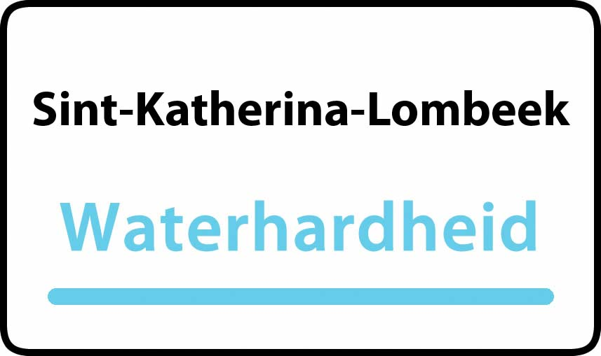 waterhardheid in Sint-Katherina-Lombeek is hard water 39 °F Franse graden