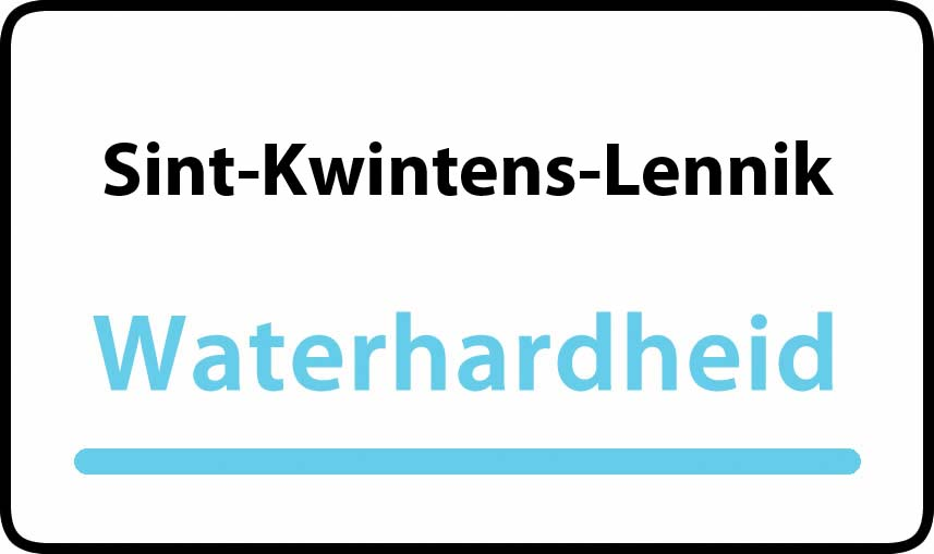 waterhardheid in Sint-Kwintens-Lennik is hard water 42 °F Franse graden