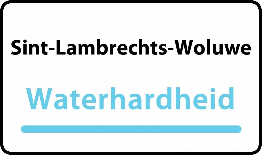 waterhardheid in Sint-Lambrechts-Woluwe is hard water 36 °F Franse graden