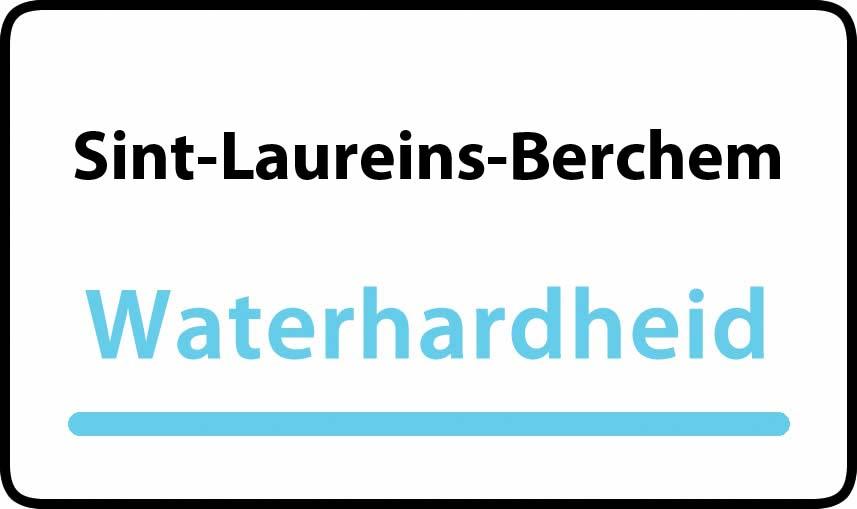 waterhardheid in Sint-Laureins-Berchem is hard water 36 °F Franse graden