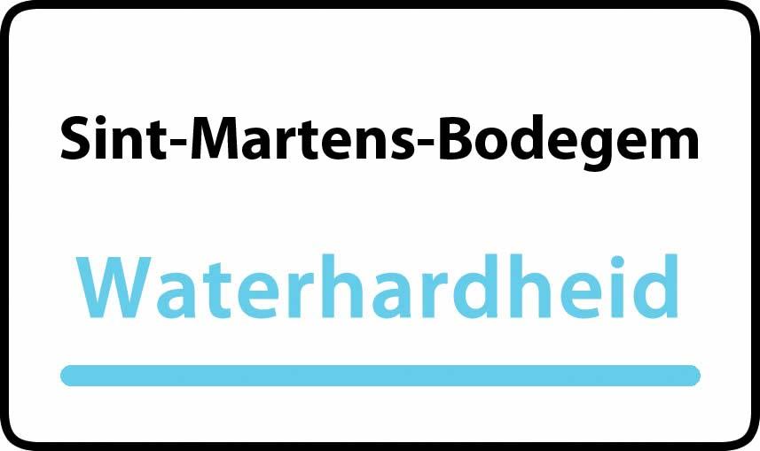 waterhardheid in Sint-Martens-Bodegem is middel hard water 28 °F Franse graden