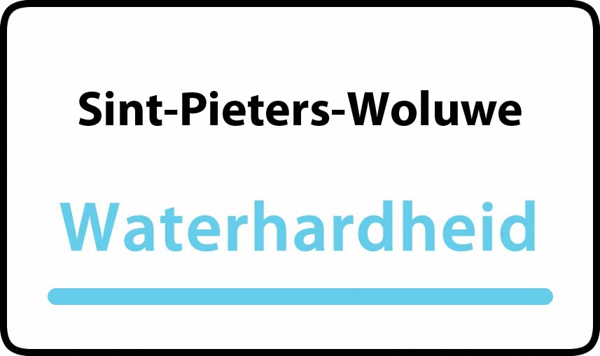 waterhardheid in Sint-Pieters-Woluwe is hard water 36 °F Franse graden