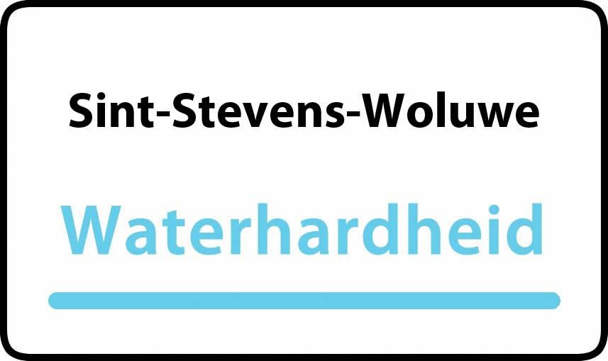 waterhardheid in Sint-Stevens-Woluwe is hard water 39 °F Franse graden