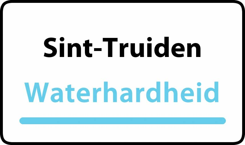 waterhardheid in Sint-Truiden is hard water 38 °F Franse graden