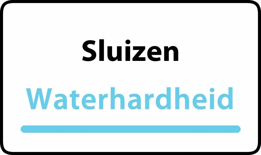 waterhardheid in Sluizen is hard water 37 °F Franse graden