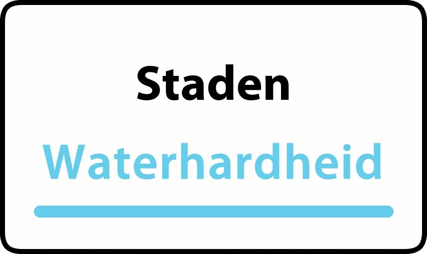 waterhardheid in Staden is hard water 44 °F Franse graden