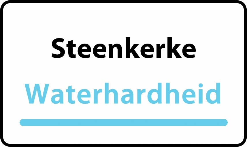 waterhardheid in Steenkerke is hard water 40 °F Franse graden