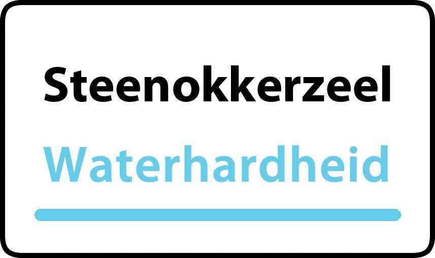 waterhardheid in Steenokkerzeel is hard water 37 °F Franse graden