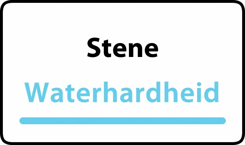 waterhardheid in Stene is hard water 32 °F Franse graden
