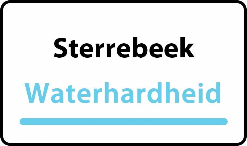 waterhardheid in Sterrebeek is hard water 39 °F Franse graden