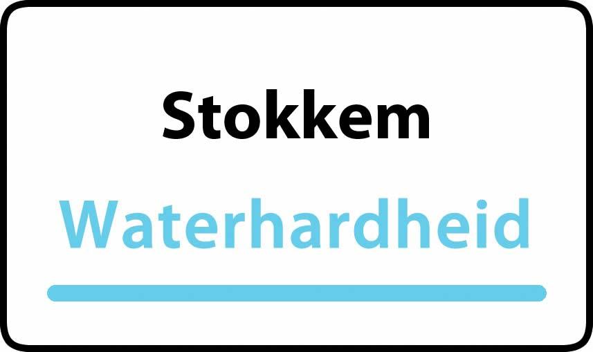 waterhardheid in Stokkem is middel hard water 22 °F Franse graden