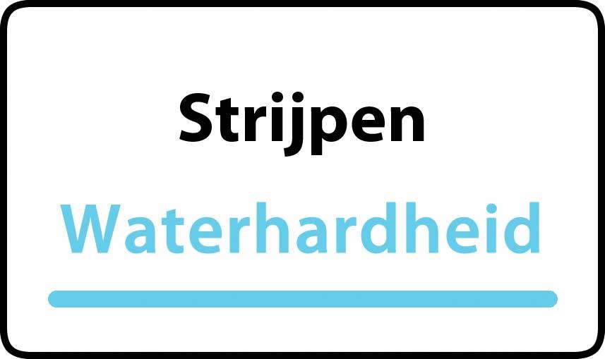 waterhardheid in Strijpen is hard water 39 °F Franse graden