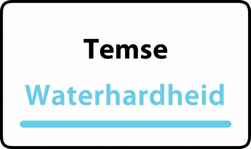waterhardheid in Temse is middel hard water 27 °F Franse graden