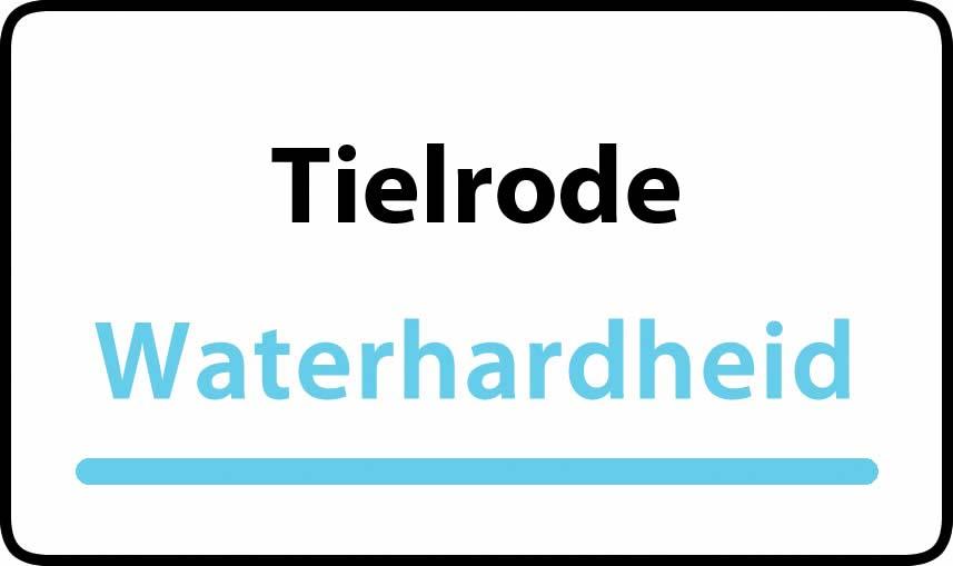 waterhardheid in Tielrode is middel hard water 27 °F Franse graden