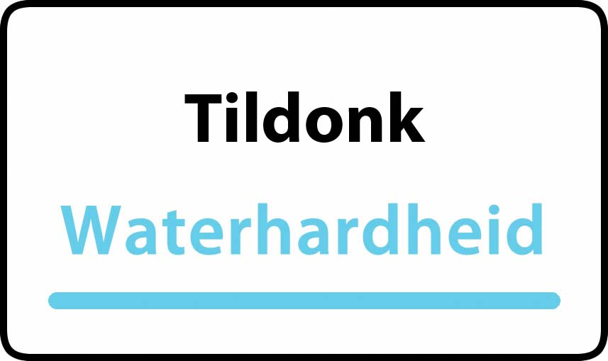 waterhardheid in Tildonk is hard water 36 °F Franse graden