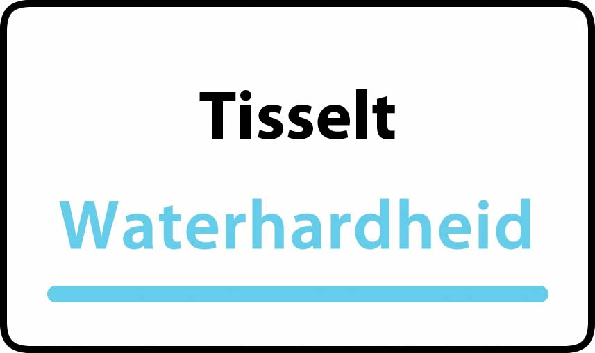 waterhardheid in Tisselt is middel hard water 18 °F Franse graden