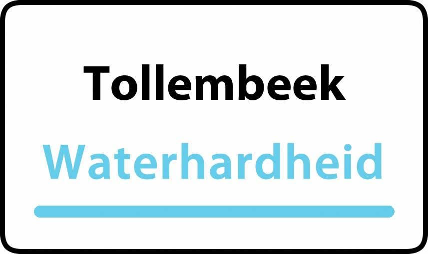 waterhardheid in Tollembeek is hard water 44 °F Franse graden