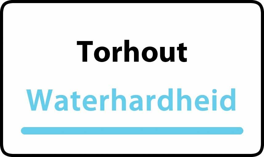waterhardheid in Torhout is hard water 32 °F Franse graden